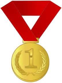 Gold Medal Awards Clip Art