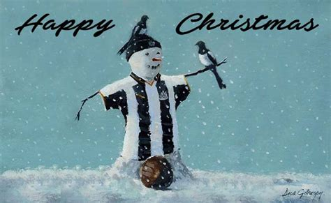 have a beautiful black white christmas nufc the mag
