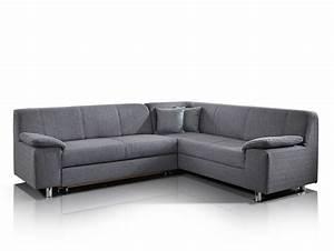 Ecksofa Mit Verstellbarer Sitztiefe : almo ecksofa mit hohem r cken in grau ~ Indierocktalk.com Haus und Dekorationen
