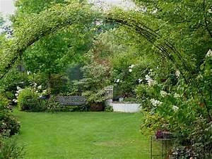 Arche Metal Pour Plante Grimpante : tuteurs arches pergolas et tonnelles arrosoirs et ~ Premium-room.com Idées de Décoration
