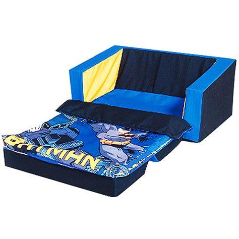 new batman kids boys flip open couch sofa bed sleeper ebay