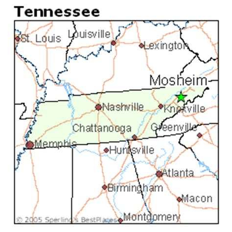 places    mosheim tennessee