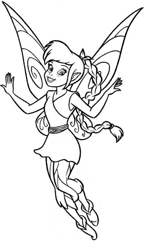 lovely fawn  disney fairies coloring page  print  coloring pages
