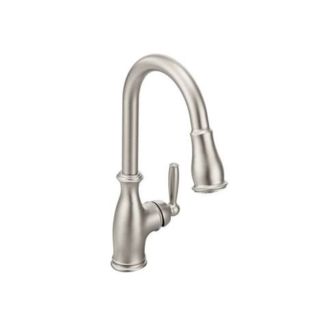 moen 7185srs spot resist stainless kitchen faucet build