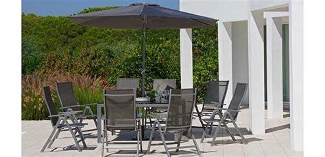 malibu 8 seater patio set black review compare prices