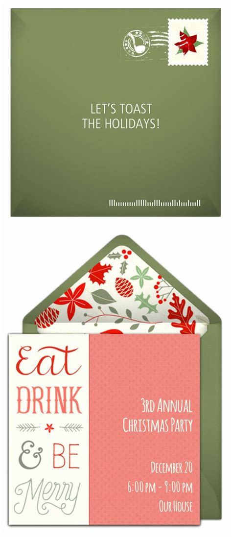 Christmas Party Invitation Wording Fresh Holiday Party