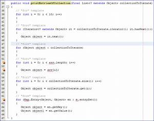 bending netbeans code templates to my will javaworld With using templates in java