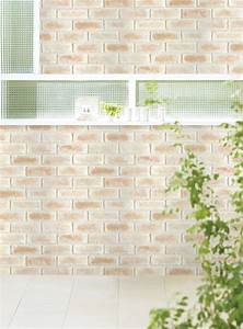 Sweet Brick Contact Paper Peel and Stick Wallpaper