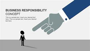 Business Responsibility Concept For Powerpoint