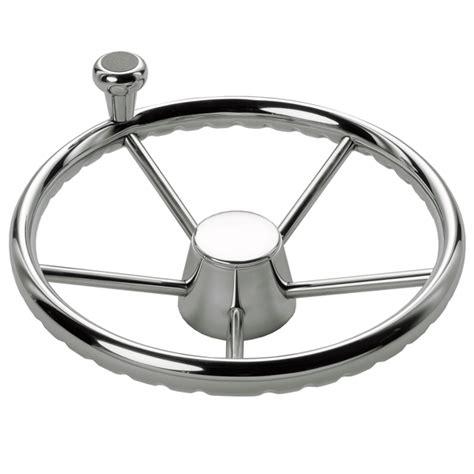 boat steering wheel knob marine steering 13 5 quot destroyer wheel with