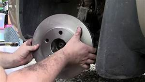 2001 Buick Lesabre Custom Replacing Front Brakes