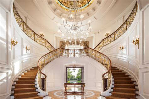 outstanding mansion staircase designs