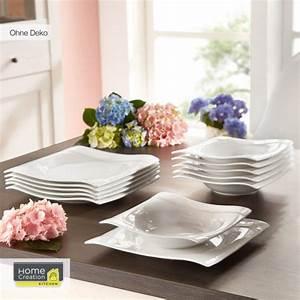 Home Creation Geschirr : home creation tafelservice von aldi nord ansehen ~ Buech-reservation.com Haus und Dekorationen