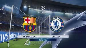Pes 2018 UEFA champions league FC Barcelona VS Chelsea ...