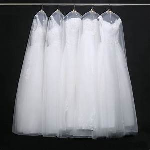 best selling clothes dust cover bag bridal gowns cover With wedding dress bag