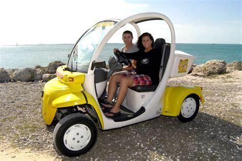 Elec Cars by Key West Electric Car Rental A M Rentals
