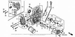 Honda Engines Gx690 Taf5 Engine  Jpn  Vin  Gcbdk