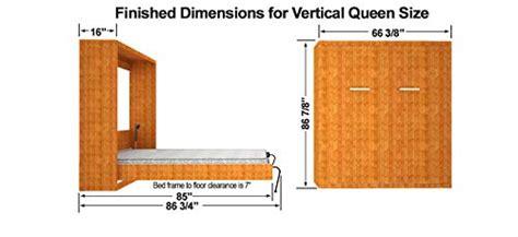 Queen-size Diy Murphy Wall Bed Hardware Kit -vertical