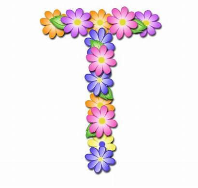 Pastel Letter Floral Alphabet Letters Scrapbook Digi