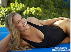 UFC champ Ronda Rousey appears in the 2015 SI Swimsuit