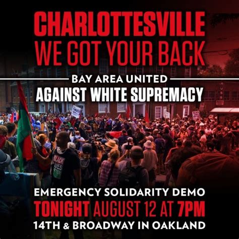 Charlottesville Memes - oakland emergency demo charlottesville we got your back indybay