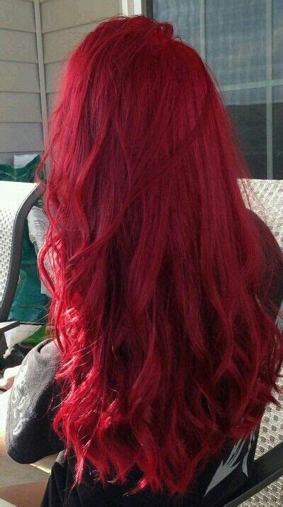 bright red haircolor hairstyle haarfarbe frisuren