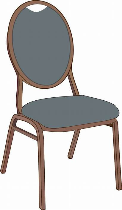 Chair Clipart Dining Clip Table Empty Cliparts