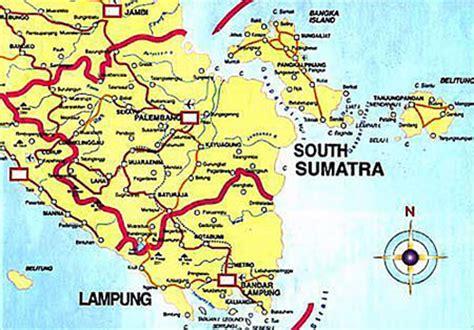 bangka belitung  indonesia tourism map