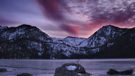 Hd Wallpaper Laptop by Sweetcouple Nature Hd Wallpapers Snow Mountain Lake