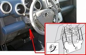 Fuse Box Diagram  U0026gt  Honda Element  2003