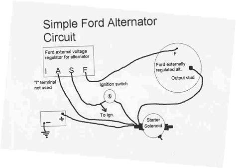 alternator votage generator wiring yesterdays tractors