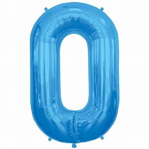 Blue letter o 16 inch foil balloon for Blue foil letter balloons