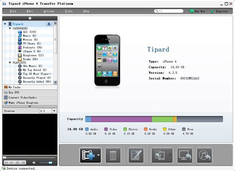 how to copy from iphone to computer free tipard iphone 4 transfer platinum by tipard