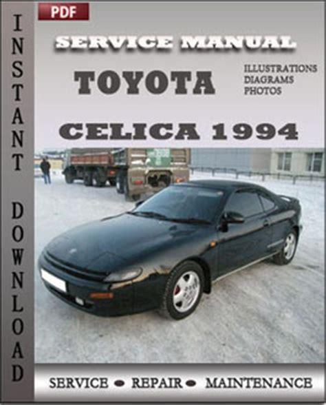 service repair manual free download 1994 toyota celica engine control toyota celica 1994 engine workshop repair manual repair service manual pdf