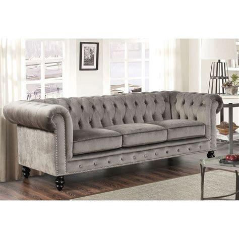 grey velvet settee best grey velvet sofa ideas on
