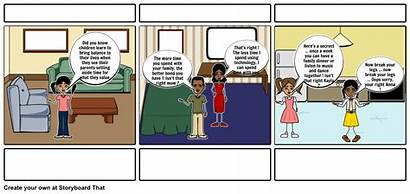 Table Storyboard Learning Parenting Website Storyboardthat