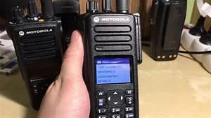 Motorola Mototrbo Dp4801e