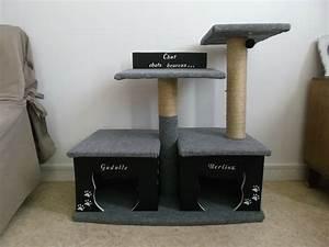 Arbre à Chat Fait Maison : construire un arbre chat une petite pause ~ Melissatoandfro.com Idées de Décoration