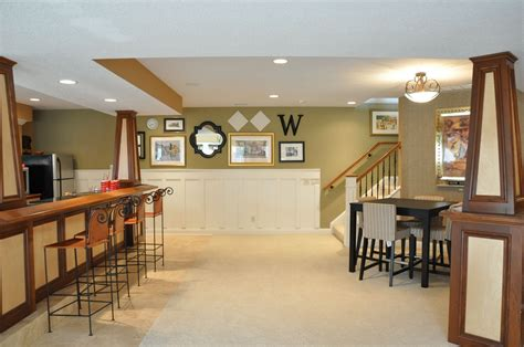 Light Paint Colors In A Dark Basement Basement Finish Pros