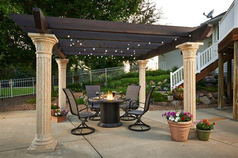 Outdoor Great Room Tuscany Woodbeam Pergola Barbeques