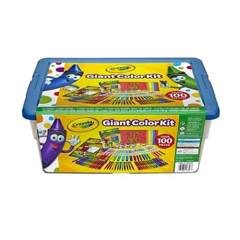 Crayola Coloring Kit by Crayola Color Kit Exclusive 0ver 100 Pieces
