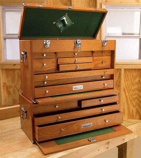 wood machinist tool box woodworking projects plans