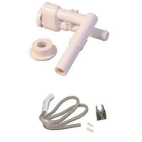 dometic 385319054 vacuum breaker with spray 910 911 310 toilet white