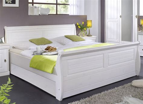 Massiv Holzbett 140x200 Bett Doppelbett Kiefer Massiv Holz
