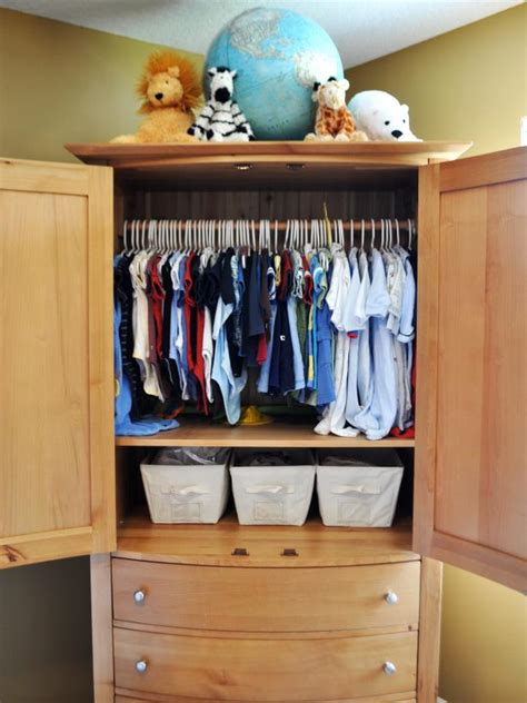 baby armoire with hanging rod colortyme toddler to teen clutter busting rooms