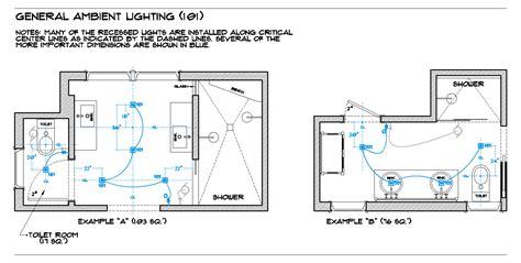 Lighting Room By Room The Full Bath  Brad Jenkins Inc