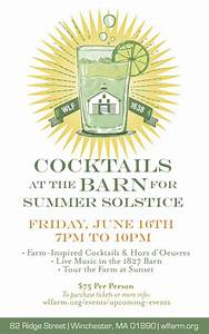Summer Solstice Cocktail Party