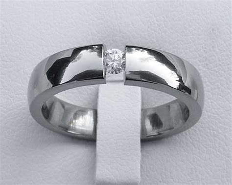 unique titanium engagement ring love2have in the uk