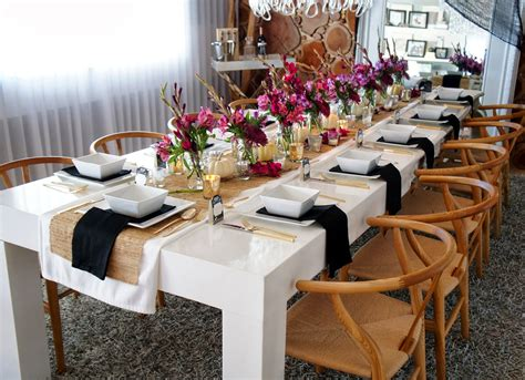 dinner table decorations for dinner parties dinner party table decor peenmedia com