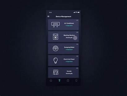 Smart Ui Dribbble Control Interface Nice App